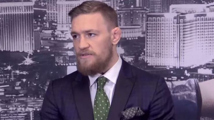 Conor McGregor to donate €50,000 to help Ireland's homeless problem