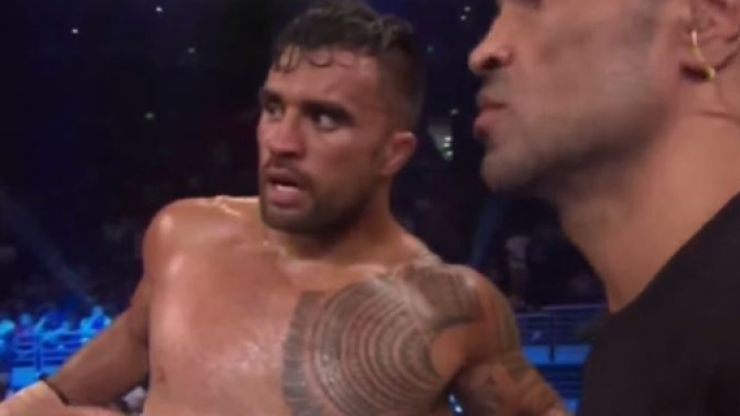 Video: 40-cap All Black rugby star Liam Messam wins profesional boxing debut