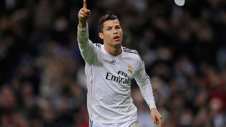 VINE: Cristiano Ronaldo becomes first player to score 30+ goals in five consecutive seasons in any of Europe's major leagues