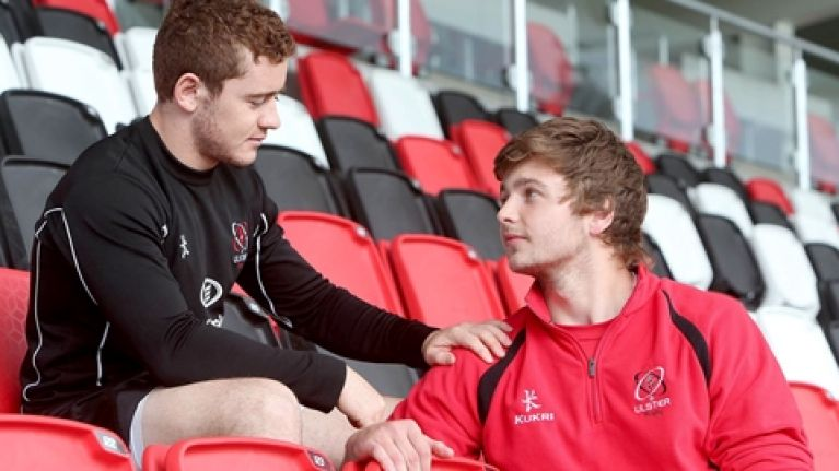 Paddy Jackson and Iain Henderson's bromance continues to burn bright