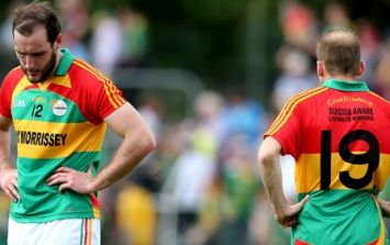 PIC: Carlow release new away jersey to be sported by U21s on Wednesday night