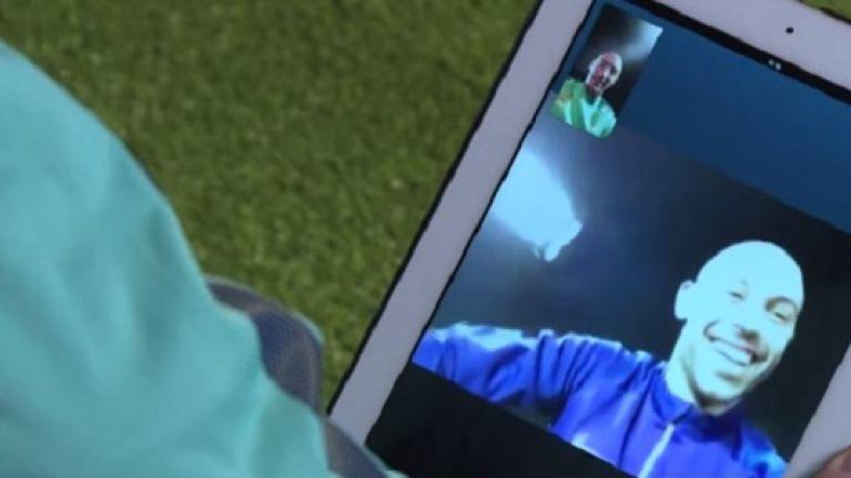 Video: Zabaleta and Mascherano talk tactics on Skype call ahead of Barcelona's trip to City