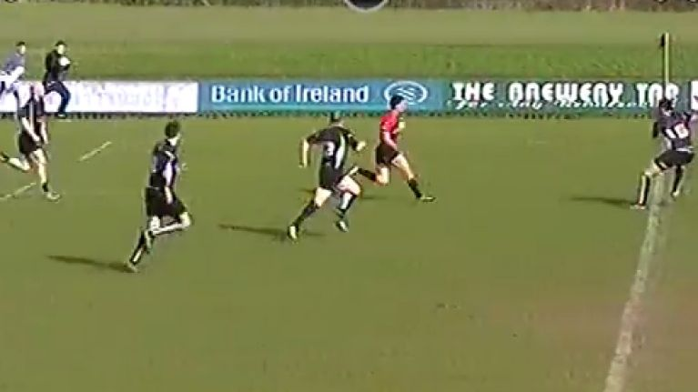 VIDEO: This Tullamore try just has to be the fastest in the history of the AIL