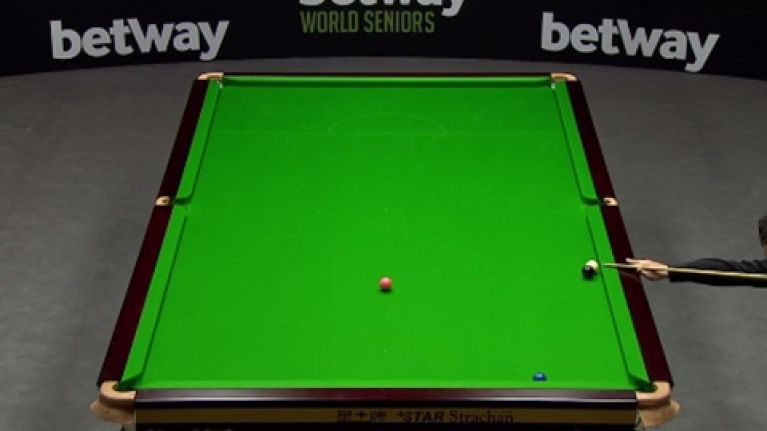 Video: Jimmy White shows he's still got it with fantastic escape from a Ken Doherty snooker