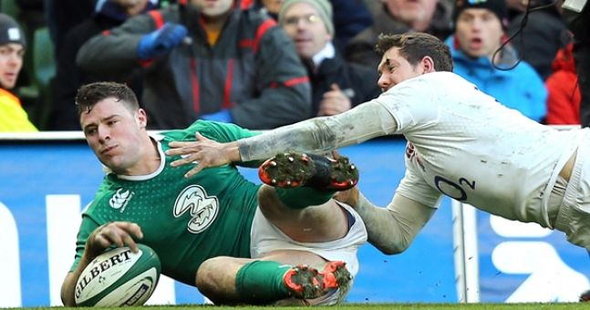Robbie Henshaw 'most retweeted' Six Nations player, not for the reason you would think