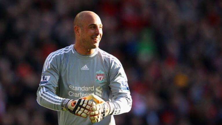 Pepe Reina broke a few records by starting for Bayern Munich today