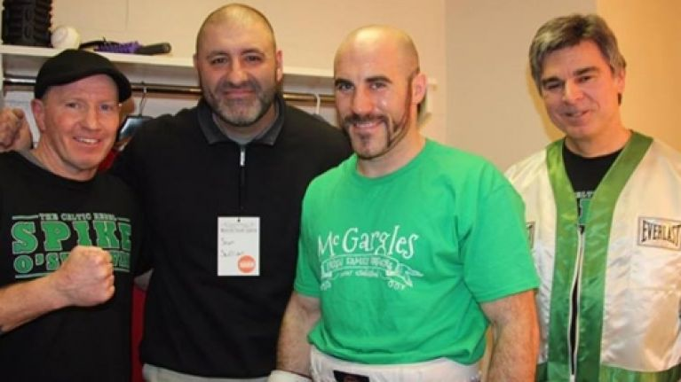The Fighting Irish: Gary Spike O'Sullivan makes it 20 wins with a little help from Micky Ward