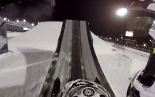 Video: This astoundingly awesome snowmobile GoPro footage is absolutely captivating
