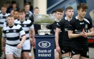 Pic: Roscrea are taking the Leinster Senior Cup to places it has surely never been before