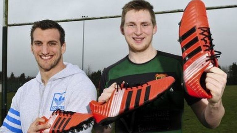 UPDATE: Welsh rugby player with size 21 feet finally gets boots that fit