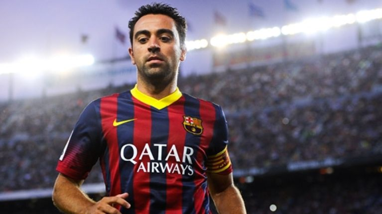 Pic: Barcelona unveil special tribute jerseys to bid farewell to Xavi
