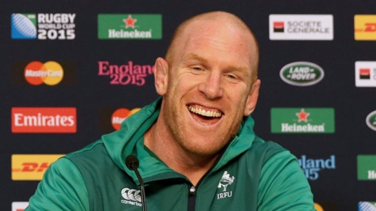 Lovely story that shows what Paul O'Connell was really like when he played for Ireland