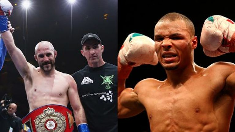 Twenty years on and an Irish boxer is going to fight a Eubank once again