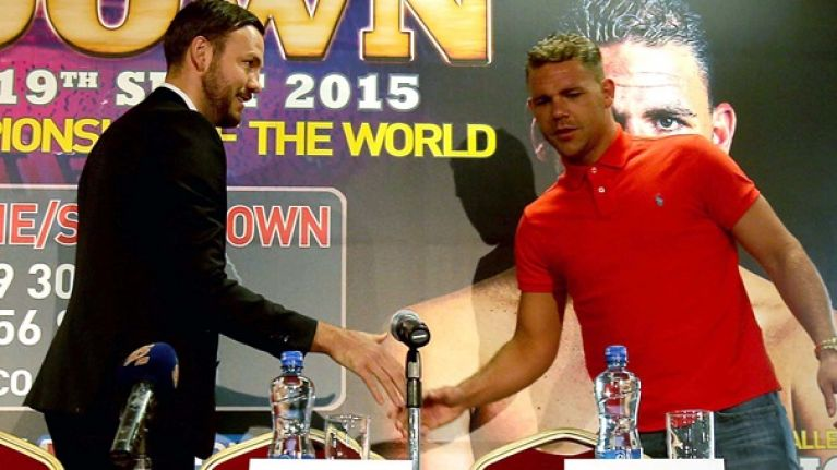 CONFIRMED: We have a new date for Andy Lee's title defence against Billy Joe Saunders