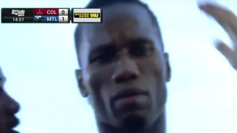 VIDEO: Didier Drogba scores ninth in nine with cracking free kick, celebrates and terrifies everyone