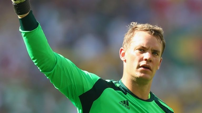 Manuel Neuer reveals which goalkeeper inspired the way he plays football