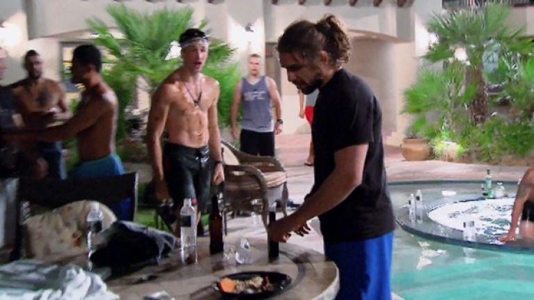 VIDEO: Absinthe leads to poolside mayhem in The Ultimate Fighter house