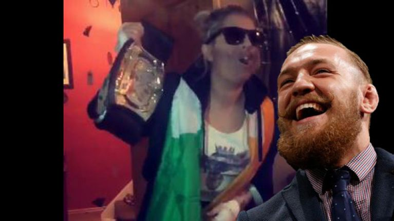 VIDEO: This Conor McGregor Halloween costume had the