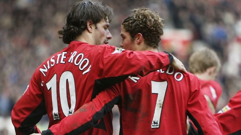 New biography recalls Cristiano Ronaldo's training ground bust-up with Ruud van Nistelrooy