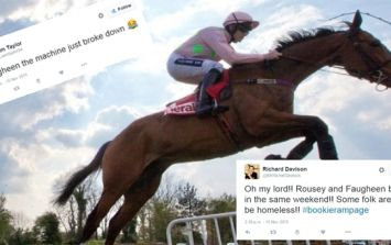 Faugheen did a Ronda Rousey and punters lost their shirts at Punchestown