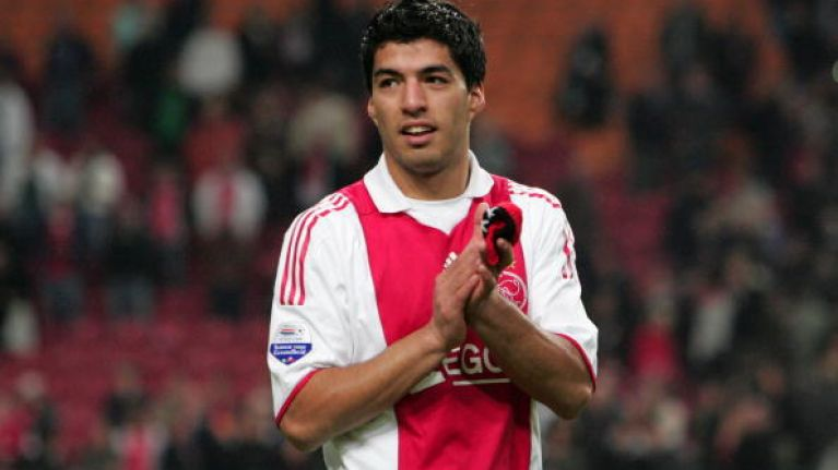check out ee23b 35d24 VIDEO: Luis Suarez and Zlatan Ibrahimovic feature in Ajax ...