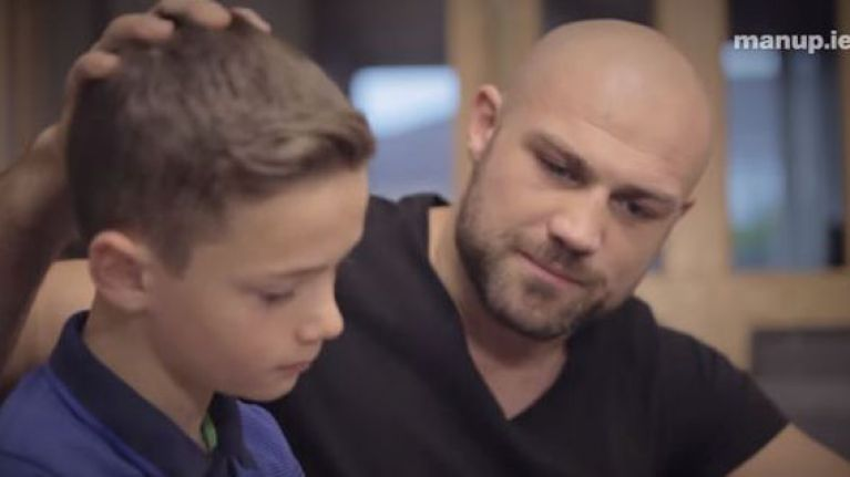 VIDEO: Cathal Pendred wants you to 'man up' in powerful anti-domestic violence campaign
