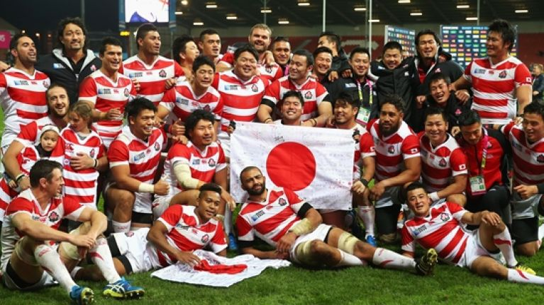 Japan move a step closer to seat at Rugby Championship table