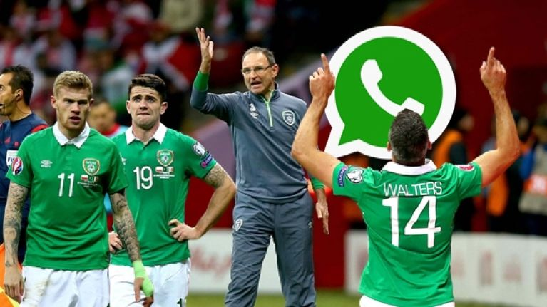 The 15 stages every WhatsApp group will go through during Bosnia v Ireland