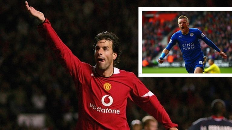 PIC: Ruud van Nistelrooy issues classy good luck message to Jamie Vardy ahead of huge weekend