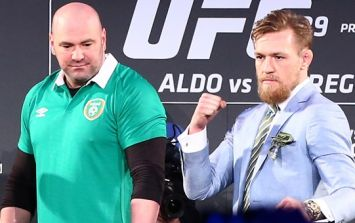 Dana White reveals that Conor McGregor got stem cell injections in injured knee ahead of UFC 189