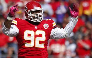 VIDEO: 346 lb Dontari Poe leaps his way into NFL history