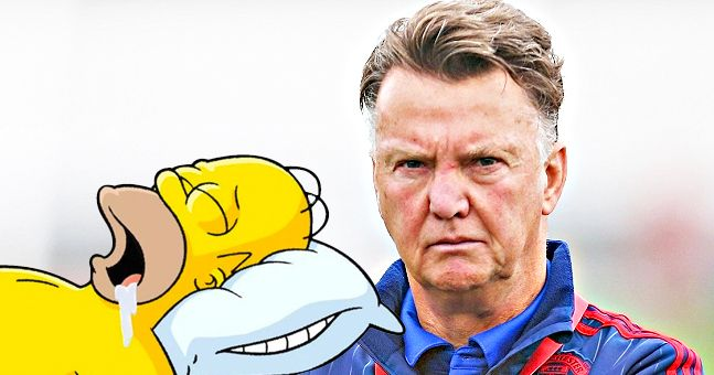 The Single Most Damning Stat About Van Gaal's Dreary