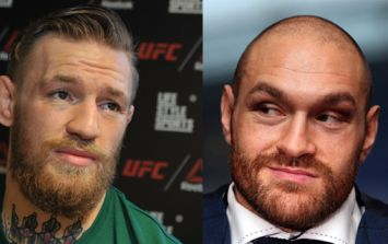 Tyson Fury boldly predicts the improbable for Conor McGregor vs Floyd Mayweather