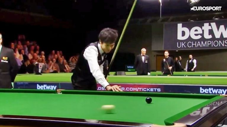 VIDEO: Gutted snooker star blows 147 and €62,000 with agonising miss on final black