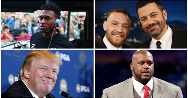Athletes and celebrities congratulate Conor McGregor on stunning victory