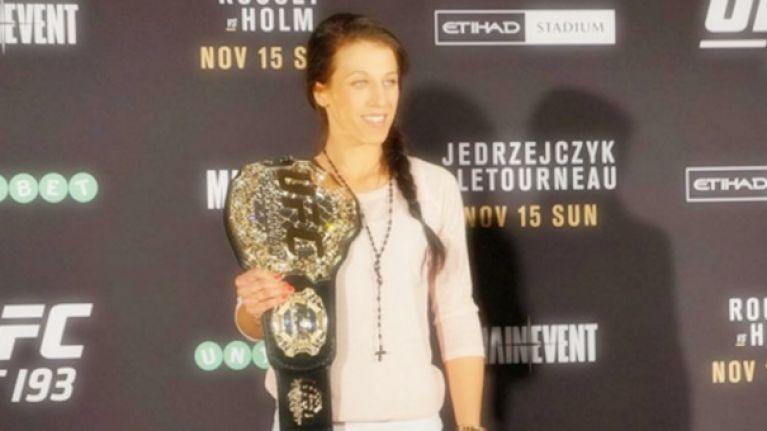 Everybody shut up because Joanna Jędrzejczyk is clearly the sportsperson of the year