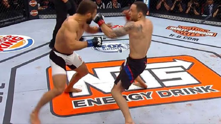WATCH: Frankie Edgar takes no time at all to brutally knock out Chad Mendes