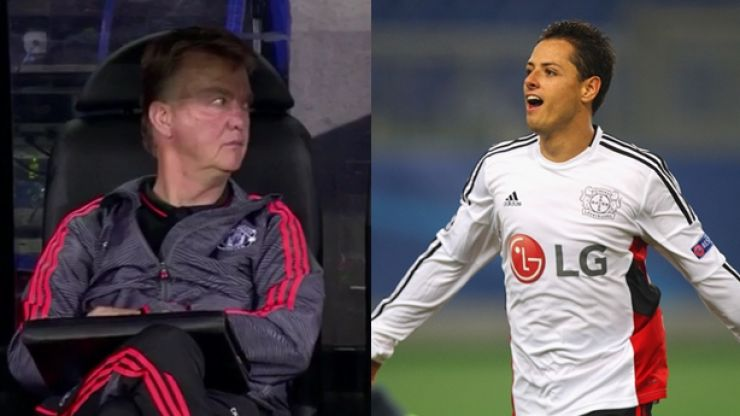 Watch: While Manchester United were losing Javier Hernandez couldn't stop scoring