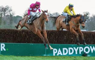 VIDEO: Don Poli helps punters recover after surprise in the Christmas Hurdle at Leopardstown.