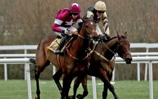 VIDEO: Stirring finish as Nichols Canyon busts a gut to win the Ryanair Hurdle at Leopardstown