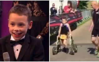 Amazing 8-year-old cerebral palsy sufferer Bailey Matthews stole the show at SPOTY