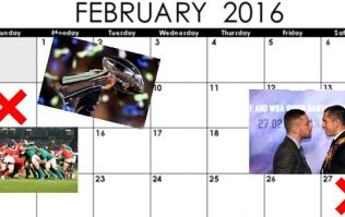 16 for '16 - The big dates for your sporting diary