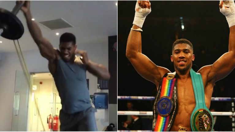 This is how Anthony Joshua's training turned him into the
