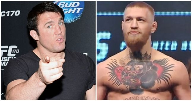 Chael Sonnen stakes his reputation on Conor McGregor being clean