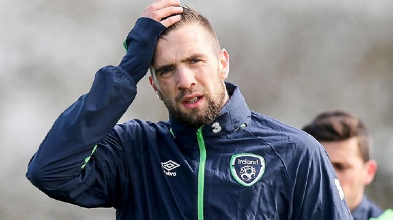 WATCH: Shane Duffy scores two OGs and gets sent off in match from hell
