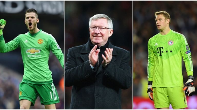 Alex Ferguson reveals why he signed David de Gea instead of Manuel Neuer