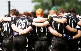 Sligo intermediate team train in the bog in an act that shows everything great about the GAA