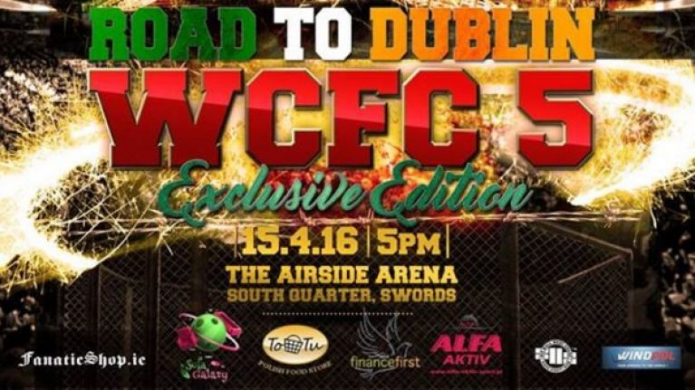 Dublin MMA event cancelled as Swords venue claims insurance