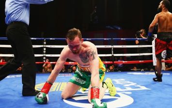 WATCH: Patrick Hyland's world title dream is decisively ended by Gary Russell Jr