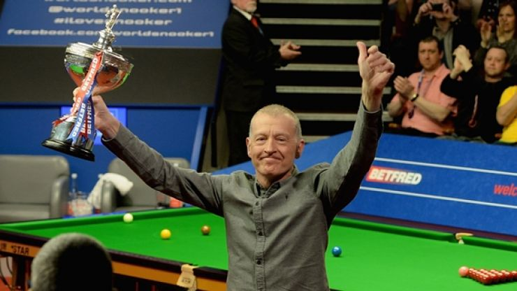 Snooker legend Steve Davis finally puts down his cue at the age of 58